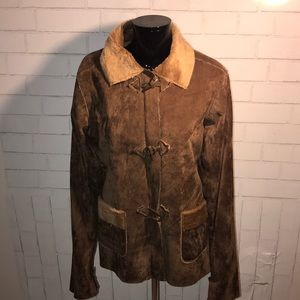 Authentic Chocolate Suede Jacket